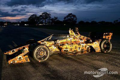Arrow McLaren SP testing livery