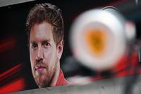 Sebastian Vettel, Ferrari garage board