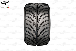 Bridgestone intermediate tread pattern