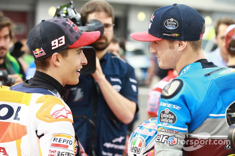 Marc Márquez, Repsol Honda Team; Jack Miller, Estrella Galicia 0,0 Marc VDS
