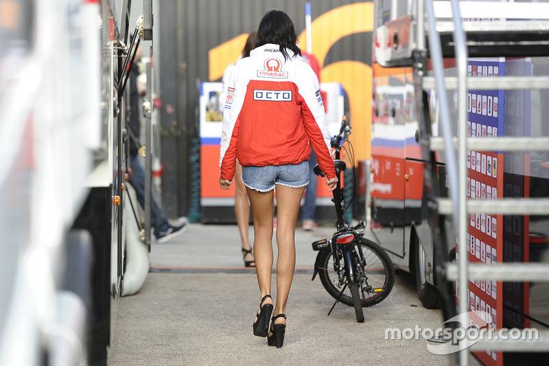 Grid girl Octo Pramac Racing