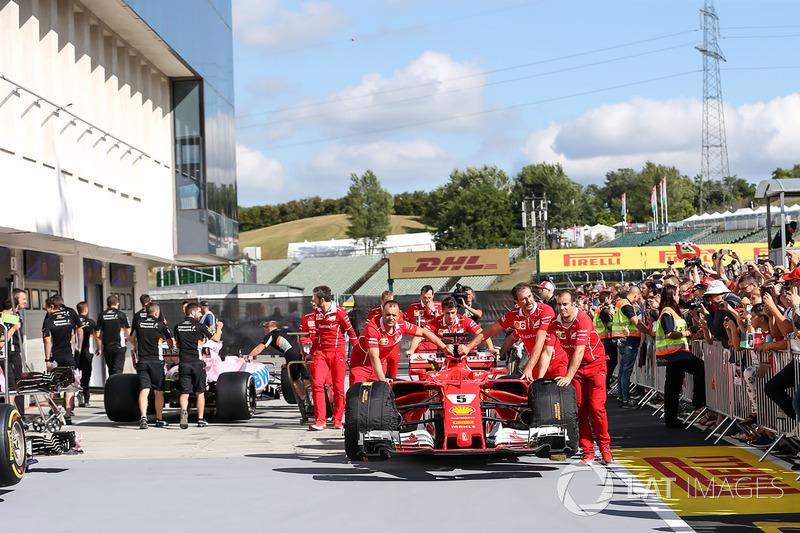 Механіки Ferrari, Ferrari SF70-H Себастьяна Феттеля