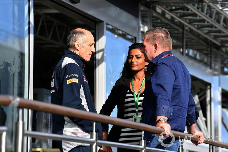 Franz Tost, Toro-Rosso-Teamchef, Jos Verstappen