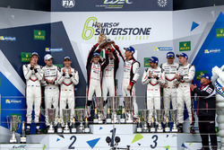 Podium: 1. #8 Toyota Gazoo Racing, Toyota TS050 Hybrid: Anthony Davidson, Sébastien Buemi, Kazuki Nakajima; 2. #2 Porsche Team, Porsche 919 Hybrid: Timo Bernhard, Earl Bamber, Brendon Hartley; 3. #1 Porsche Team, Porsche 919 Hybrid: Neel Jani, Andre Lotterer, Nick Tandy