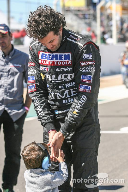 Emanuel Moriatis, Martinez Competicion Ford e hijo