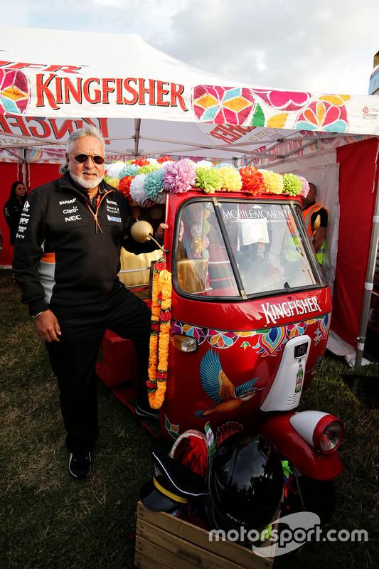 Власник Sahara Force India Formula One Team Віджей Маллья