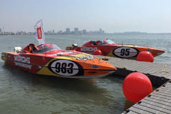 Powerboat of Dave Taft and Frederick Bastin