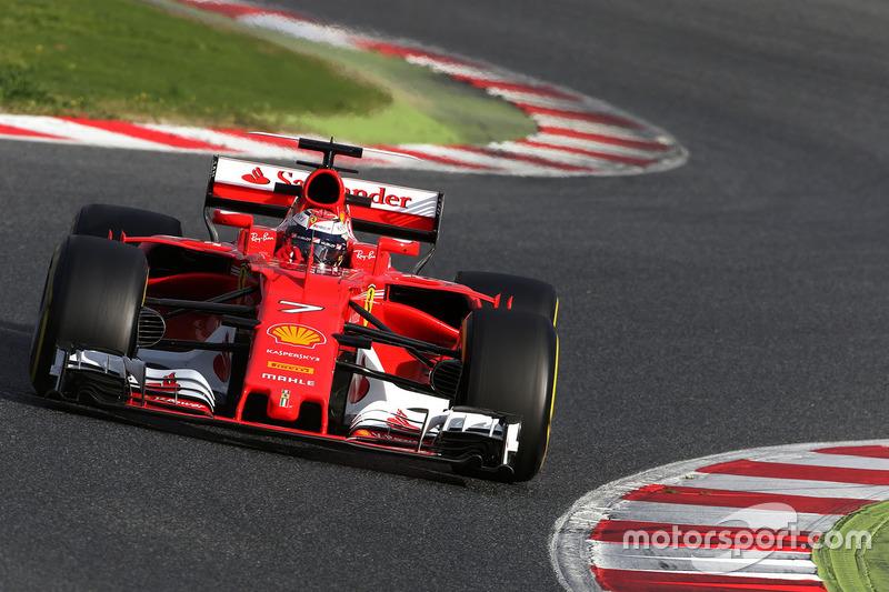 3º Kimi Raikkonen, Ferrari SF70H, 1:20.872, blandos (234 vueltas)