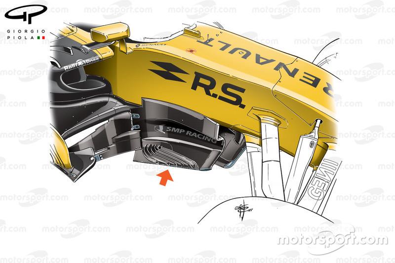 Renault RS17: Windabweiser, GP Österreich