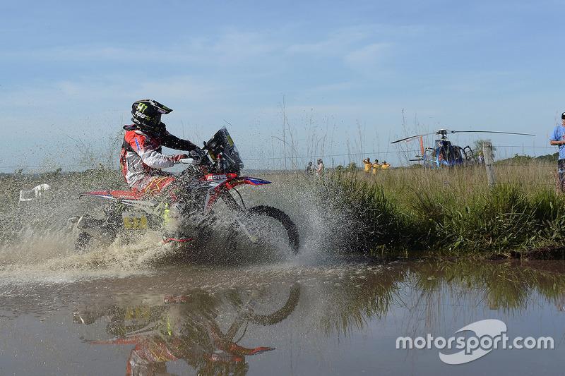 #17 Monster Energy Honda Team: Paulo Goncalves