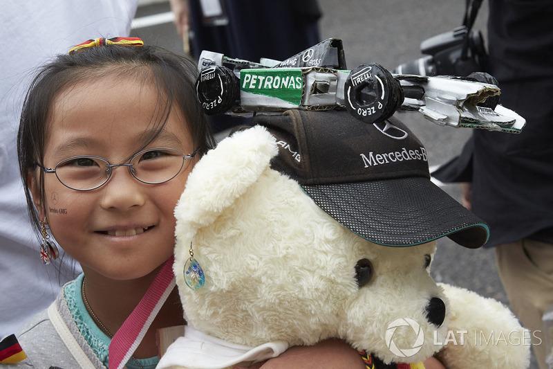 Уболівальник Mercedes AMG F1