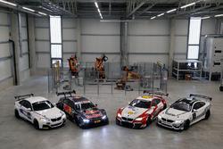 BMW M235i R, BMW M4 DTM, BMW M6 GT3 und BMW M4 GT4