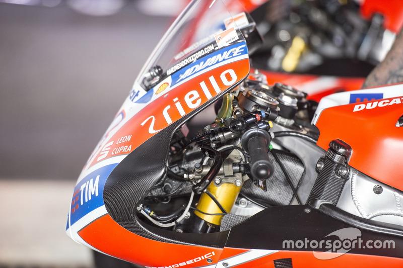 Detail: Ducati Desmosedici GP17, Ducati Team