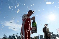 Robin Frijns, Amlin Andretti Formula E Team, celebra en el podio