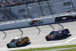 Kyle Busch, Joe Gibbs Racing Toyota Denny Hamlin, Joe Gibbs Racing Toyota Martin Truex Jr., Furniture Row Racing Toyota