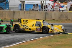 Problemi per la vettura #85 JDC/Miller Motorsports ORECA 07: Stephen Simpson, Mikhail Goikhberg, Chris Miller