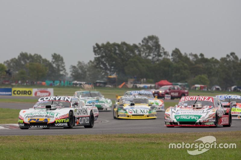 Juan Marcos Angelini, UR Racing Dodge, Matias Jalaf, Indecar CAR Racing Torino, Omar Martinez, Martinez Competicion Ford