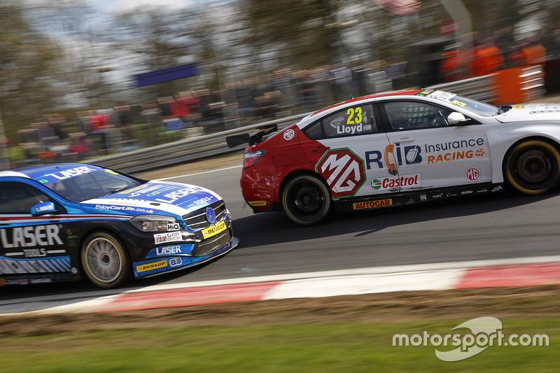 Daniel Lloyd, MG Racing RCIB Insurance MG Motor MG 6 GT