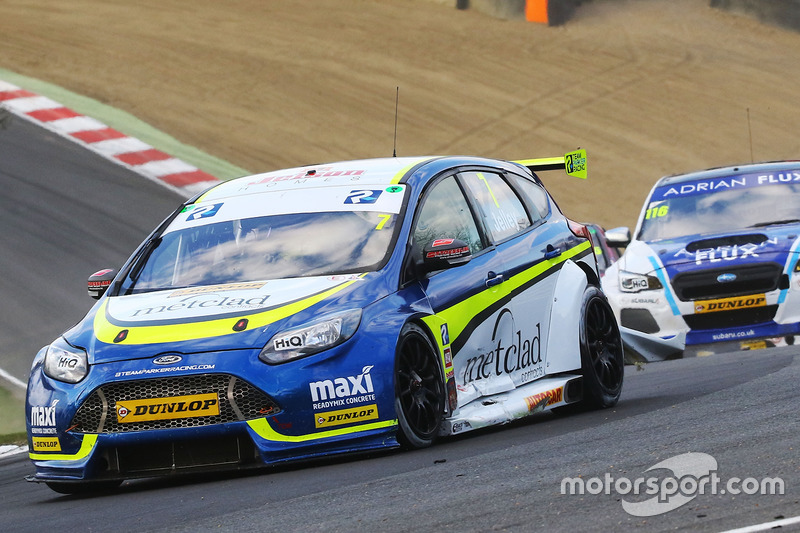 Stephen Jelley, Team Parker with Maximum Motorsport Ford Focus