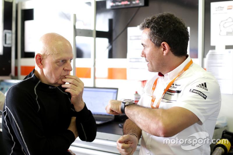 Sascha Maasen, entrenador de pilotos de Porsche Junior