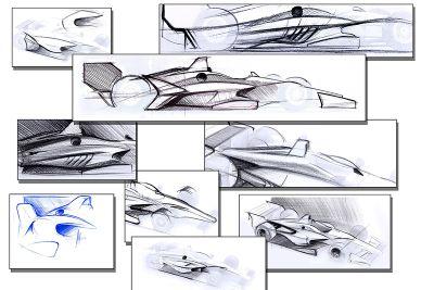 Designstudie: IndyCar-Chassis 2018