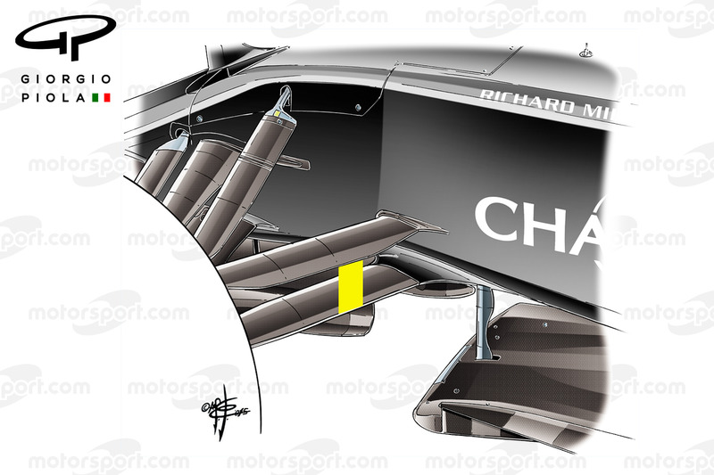 McLaren MP4-31, vordere Aufhängung