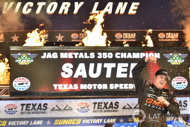 1. Johnny Sauter, GMS Racing Chevrolet