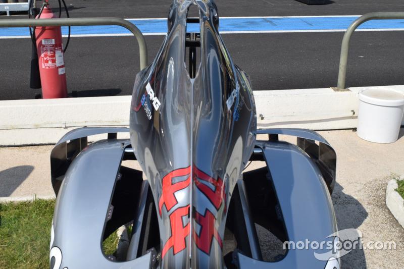 Mercedes-AMG F1 W09 bodywork rear detail