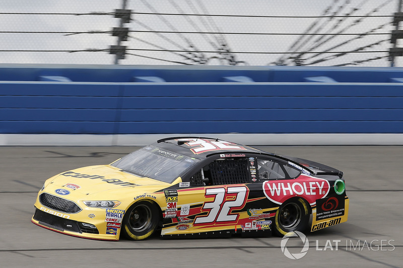 18. Matt DiBenedetto, No. 32 GO FAS Racing Ford Fusion