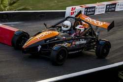Tom Kristensen driving the Ariel Atom Cup