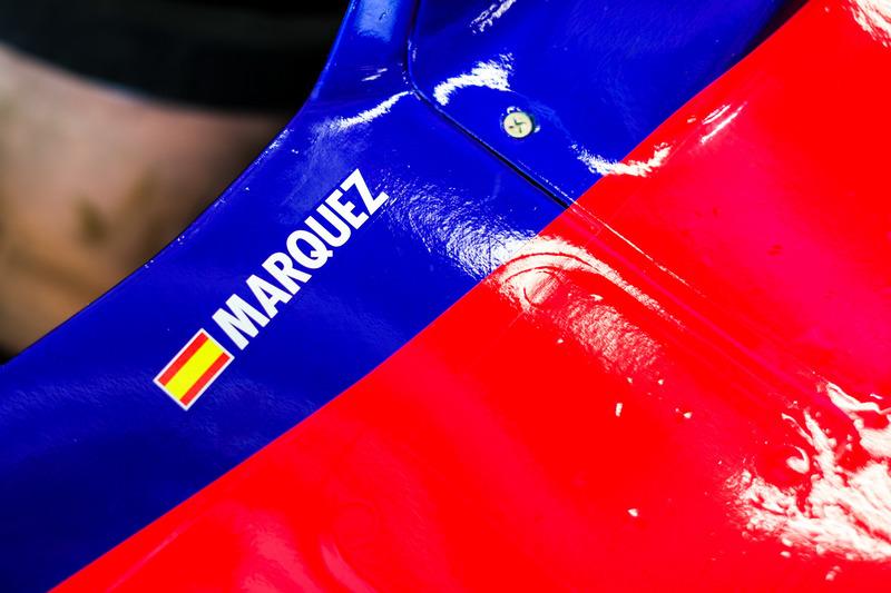 Marc Marquez testet Formel 1