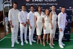 Tom Brady, Dan Carter, Daniel Ricciardo, Paulina Vega Dieppa, Geri Halliwell-Horner, Bella Hadid and Cadel Evans