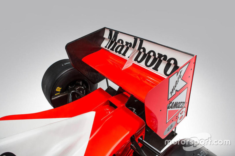 El McLaren-Cosworth Ford MP4/8A de Ayrton Senna