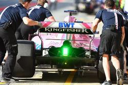 Trasera del Force India VJM11