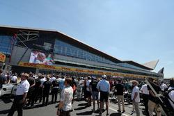 British Grand Prix Grid at Silverstone