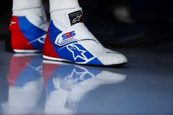 Gli scarponcini di Sergey Sirotkin, Williams