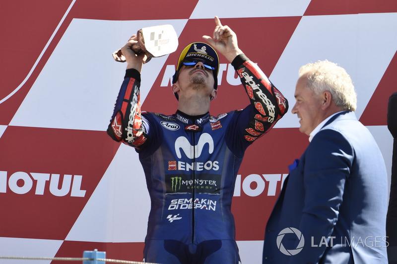 Подіум: Маверік Віньялес, Yamaha Factory Racing