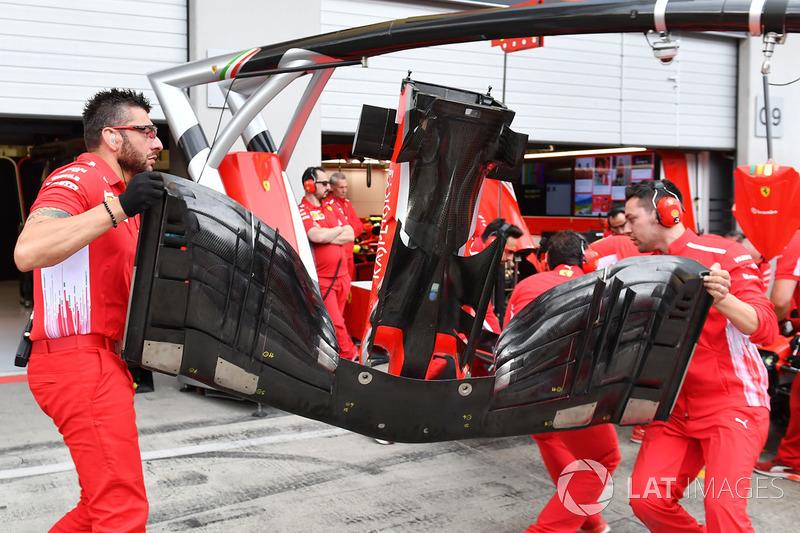 Ferrari SF71H alerón delantero