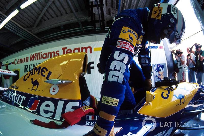 8. Італія-2003, Монца - Ален Прост, Williams FW15C: 257,209 км/год