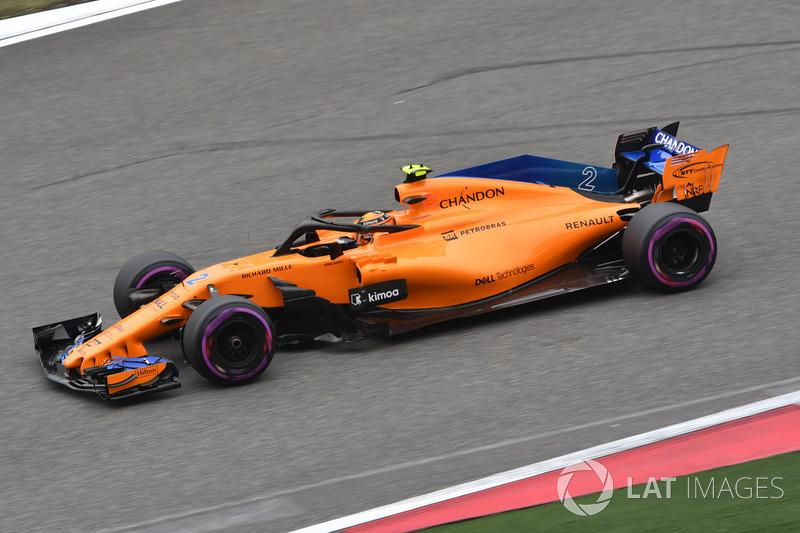 14. Stoffel Vandoorne, McLaren MCL33
