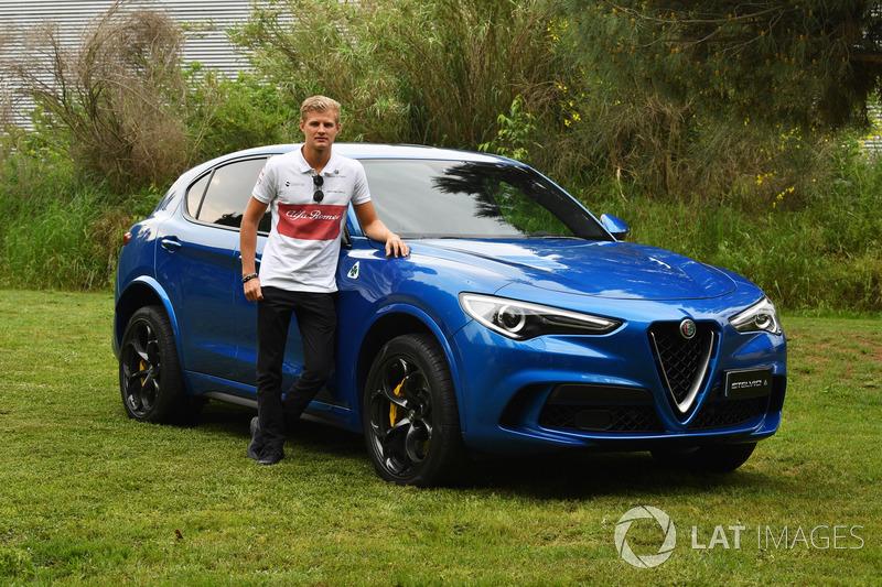 Marcus Ericsson, Sauber con una Alfa Romeo Stelvio