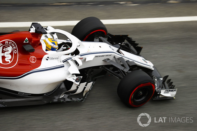 #9 Marcus Ericsson, Alfa Romeo Sauber