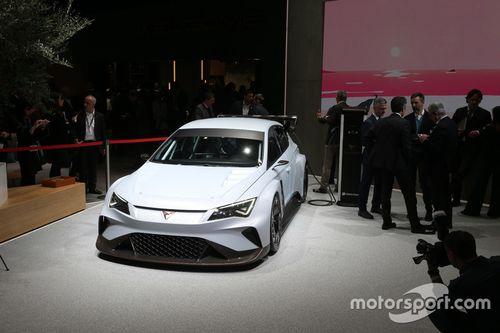 Seat Cupra e-Racer teaser