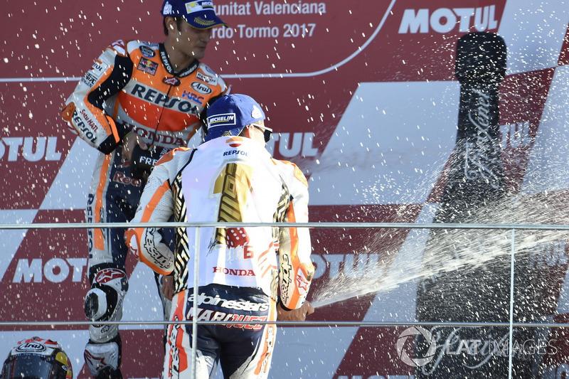 Подиум: Марк Маркес, Repsol Honda Team