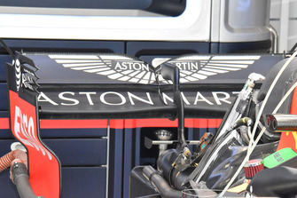 Red Bull Racing rear technical detail