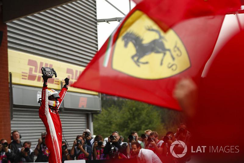 GP de Bélgica: Ferrari vuelve a la senda del triunfo