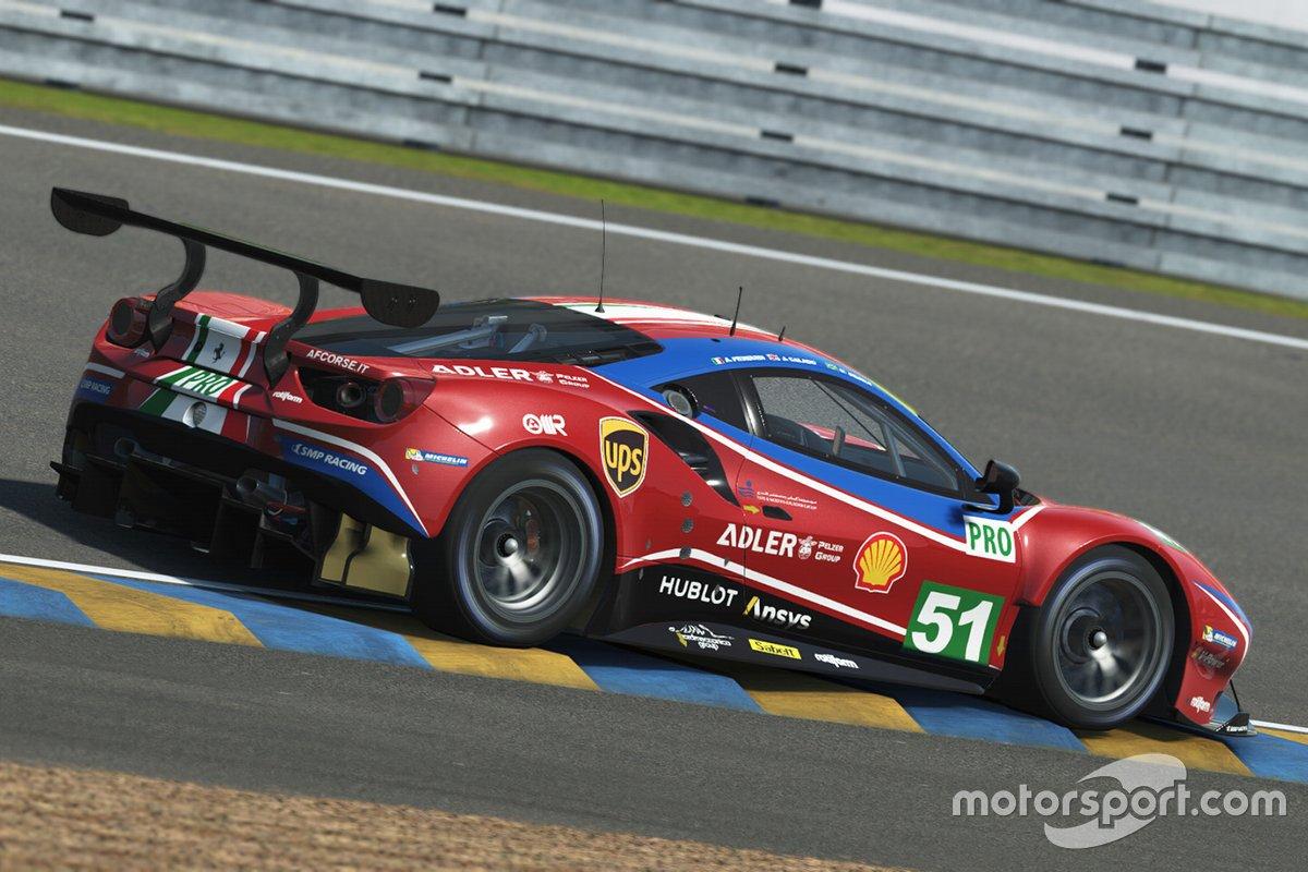 Ferrari 24h LE Mans Virtual