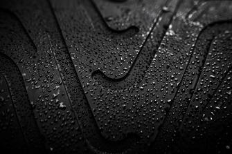 Intermediate wet tyre detail
