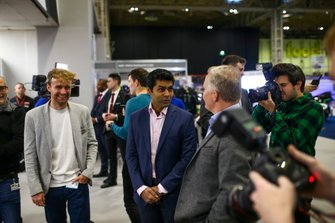 Karun Chandhok, Billy Monger and Johnny Herbert open the Show on Sunday