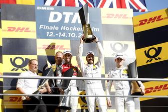 Il campione Gary Paffett, Mercedes-AMG Team HWA, secondo René Rast, Audi Sport Team Rosberg, terzo Paul Di Resta, Mercedes-AMG Team HWA, Ullrich Fritz, Team principal Mercedes-AMG HWA